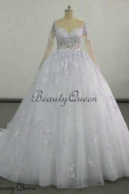 Bridal Dresses, Wedding Dresses, New Arrival 2016 Wedding Dress,Ball Gown Wedding Dresses, Lace Wedding Dresses, Long Sleeves Wedding Dress, Bride Dress,Bridal Gowns, Lace Wedding Gowns,Vintage Lace Wedding Gowns, Elegant Lace Bridal Dresses, Wedding Party Dresses