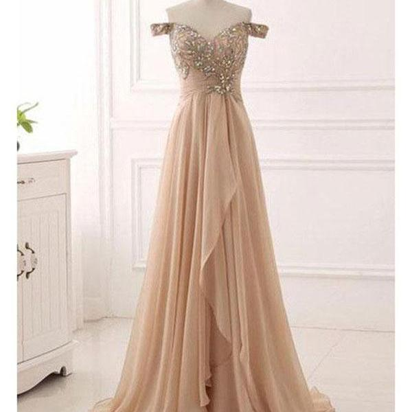 Prom Dress 2018, Chiffon Prom Dresses,Long Prom Dress 2018,Prom Dresses with Cap Sleeve,Evening Dresses, Evening Gowns,Prom Party Dresses,Pageant Dresses,Prom Dresses Chiffon,Custom Made